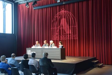 Roda de premsa de presentació de La Setmana de la Cultura Prohibida a El Born CCM