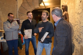 Presentació de l'App de l'obra de Sebastià Badia al Museu Thermalia de Caldes de Montbui